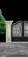 Fenêtres sur cour, Installation de portail ou porte de garage à Poligny