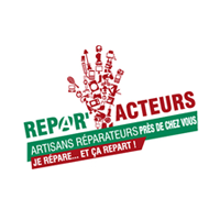Des artisans de la réparation adhèrent à la marque Répar'acteurs, déployée dans certaines régions (cf. la carte ci-contre). Ces artisans Répar'acteurs, par leur compétence, leur savoir-faire et leur engagement, mettent à l'honneur la réparation de vos biens et équipements avant tout remplacement par un objet neuf !