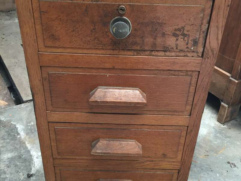 Bloc tiroir bureau atelier chêne massif - 50€ un - 80€ les deux