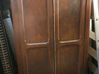 Armoire parisienne deux portes - 80€
