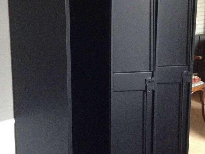 Vestiaire casier métallique Peinture Intérieur et Extérieur Color'Mat Noir Protection Vitri'Mat
