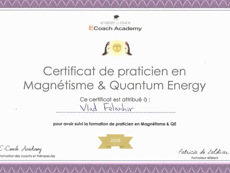 certificat_magnetisme