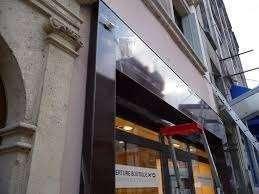 AMF Façades de magasins en Aluminium à Paris.