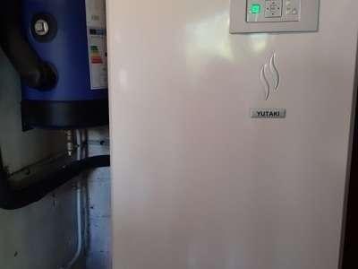 Pompe à chaleur haute température avec ECS au  Castellet