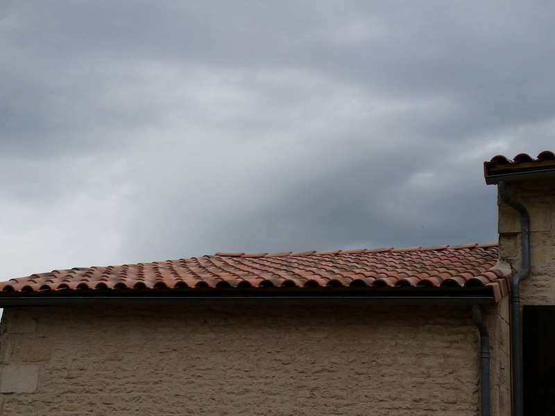 Charpente à côté de Niort. Réalisée par Vincent Deguilhen