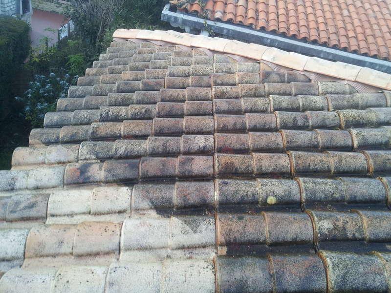 Nettoyage de toiture à côté de Royan Réalisé par Vincent Deguilhen