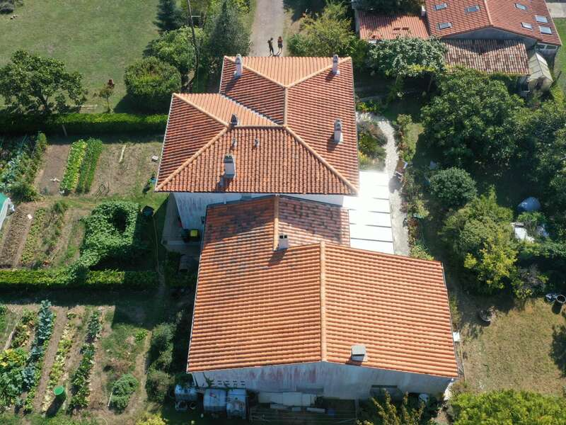 Remaniement de toiture à Royan Réalisé par Vincent Deguilhen