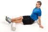 Massage des jambes au rouleau pour le crossfit
