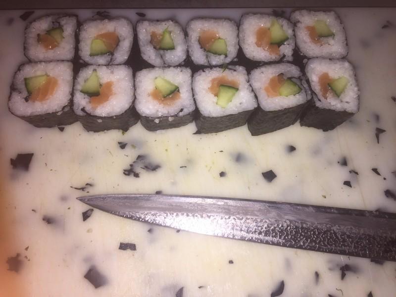 maki saumon concombre cacher