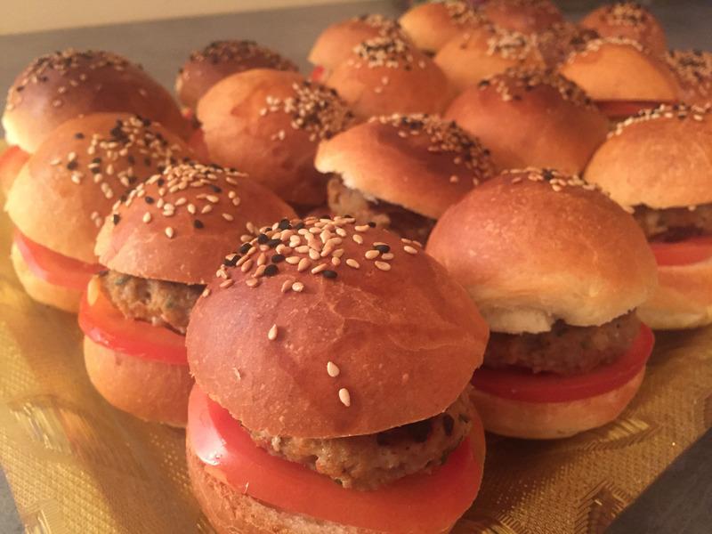 burger kefta pour anniversaire cacher