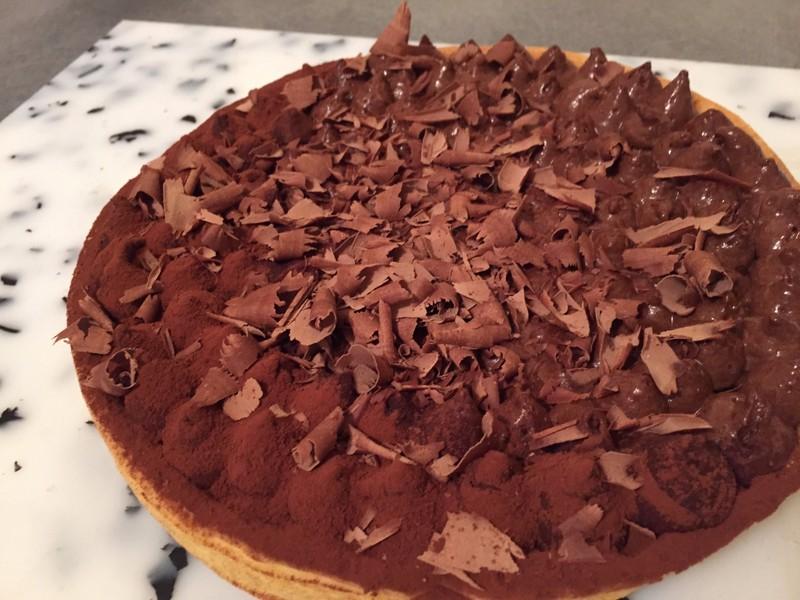 tarte chocolat cacher
