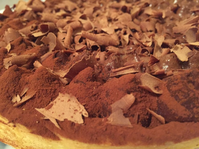 dessert cacher tarte au chocolat tout chocolat