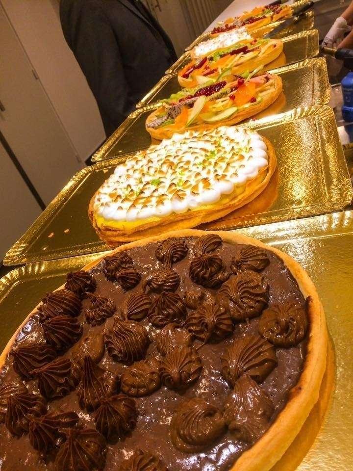 assortiment de tarte pour buffet Professionnel  cacher