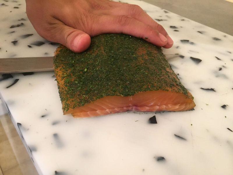 traiteur cacher Filet de saumon