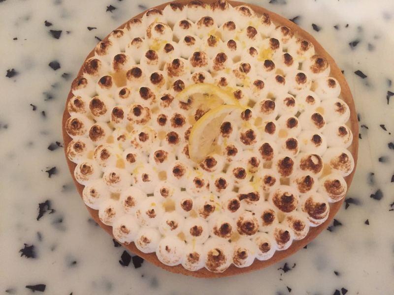 buffet cacher tarte citron meringuée