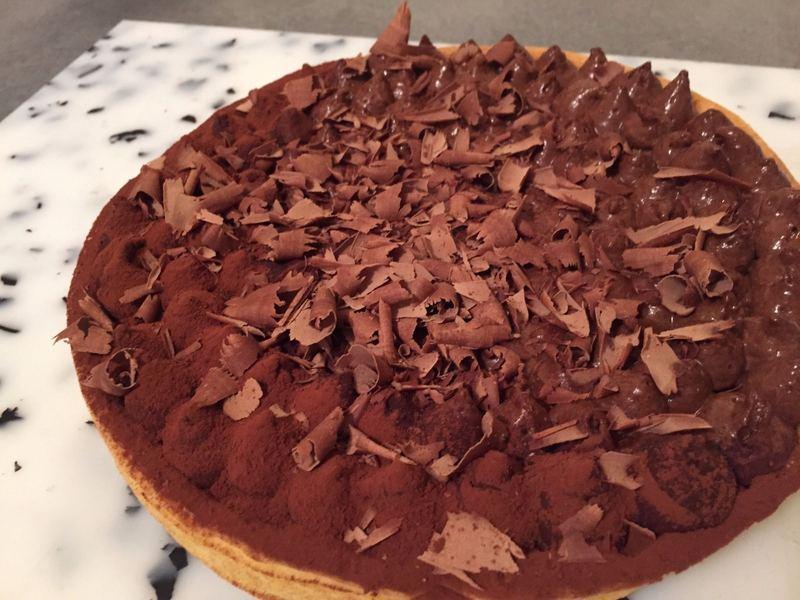 traiteur cacher livraison tarte chocolat