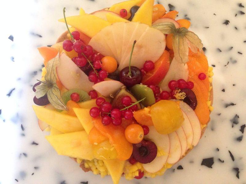 traiteur cacher Tarte aux fruits