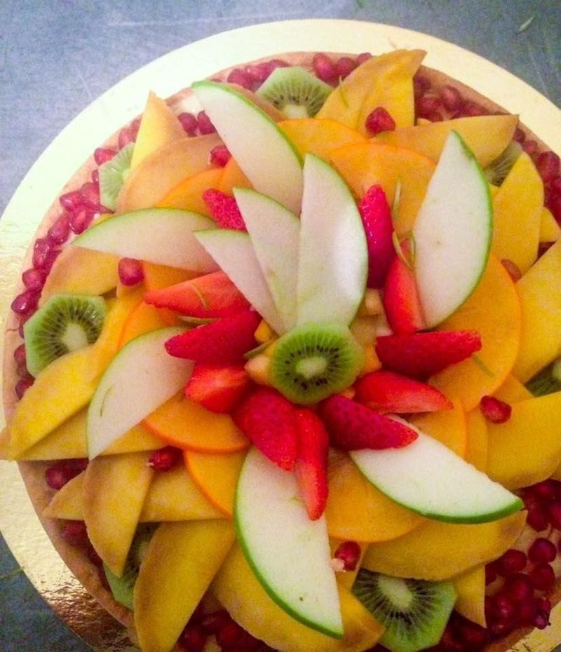 Tarte aux fruits traiteur kasher