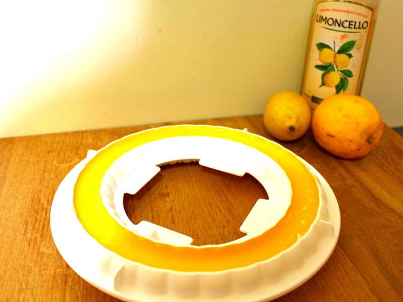 Entremet citron meringué cacher