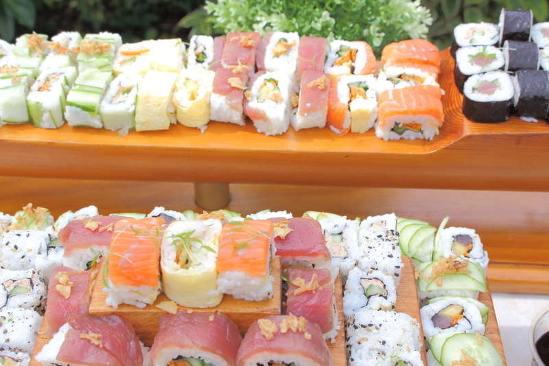 sushi mix cacher
