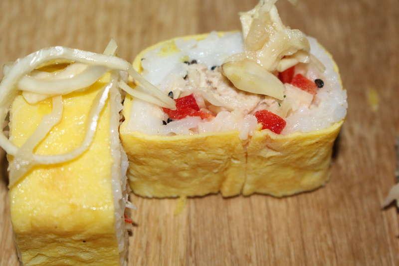 eggs maki cacher
