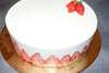 gâteau fraisier traiteur casher