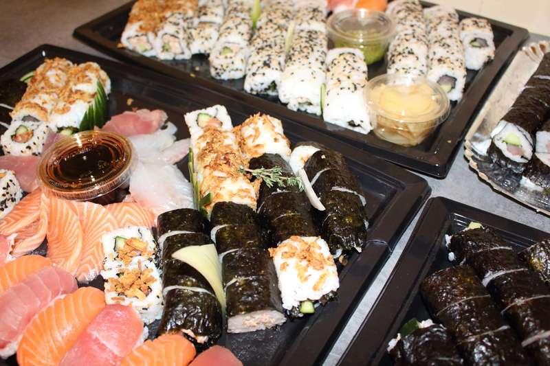 traiteur cacher  Formule sushi découverte