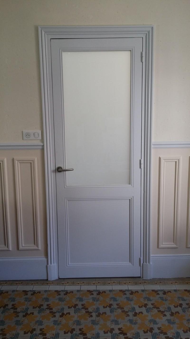 Porte intérieure en bois sur mesure