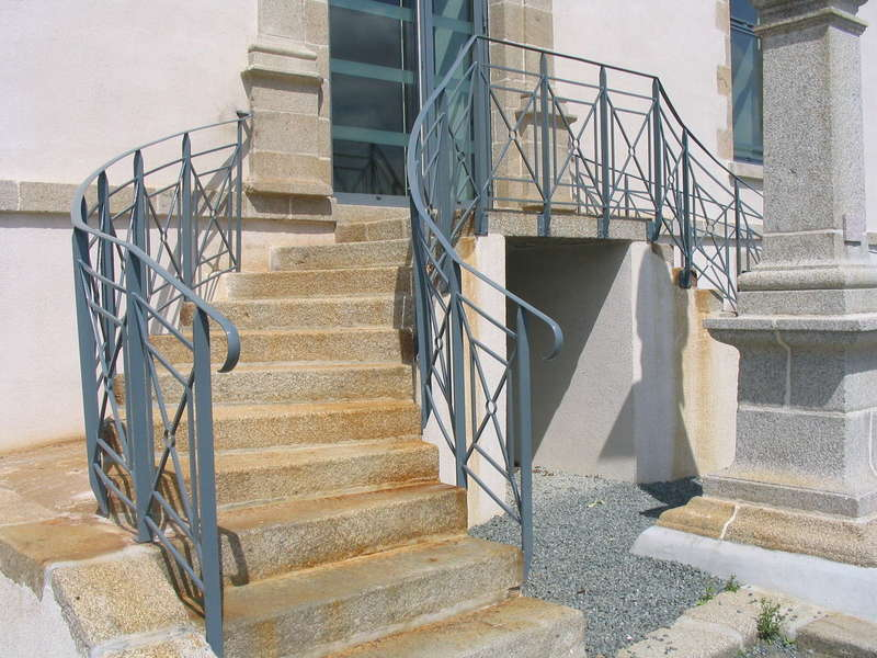 Garde-corps d'escaliers