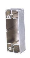 Boîtier en aluminium pour fixation sur profil plat Réf O-SET