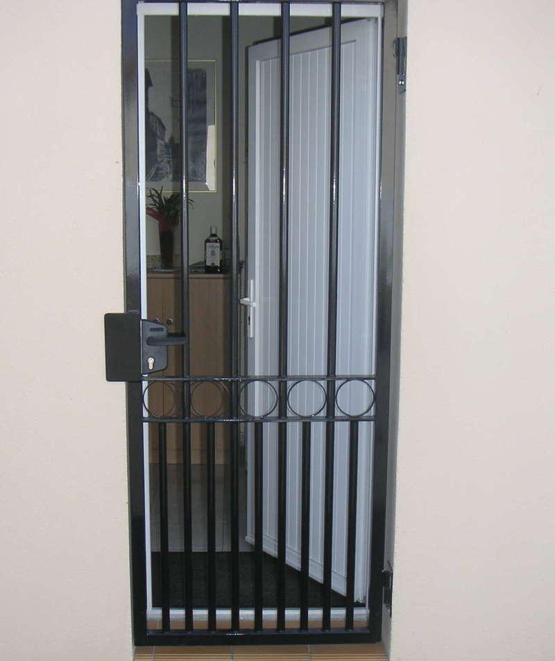 Porte de sécurité pour maison de ville
