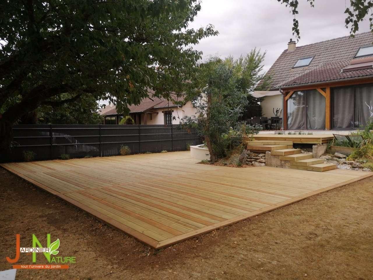 Construire Terrasse En Bois construction de terrasse en bois à chartres (28000)