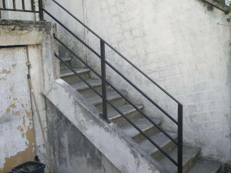 Réalisation garde-corps agogue père et fils reuil malmaison serrurerie
