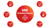 300 collaborateurs