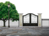 Installation de portail ou porte de garage