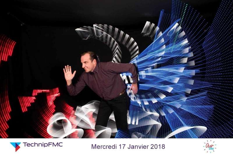 Lightpainting pour TechnipFMC - 2018
