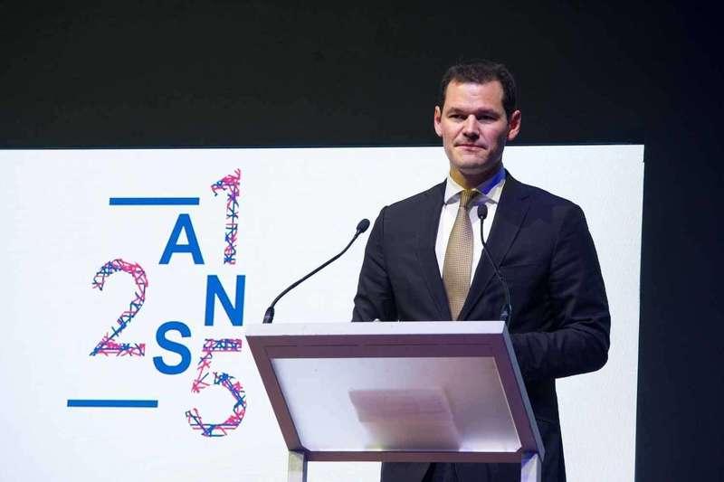 Pierre Maudet lors du Gala des 125 ans de la CCIFS à Genève en juin 2019