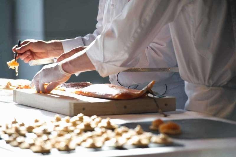 Détails de la préparation du dîner pour les 125 ans de la CCIFS