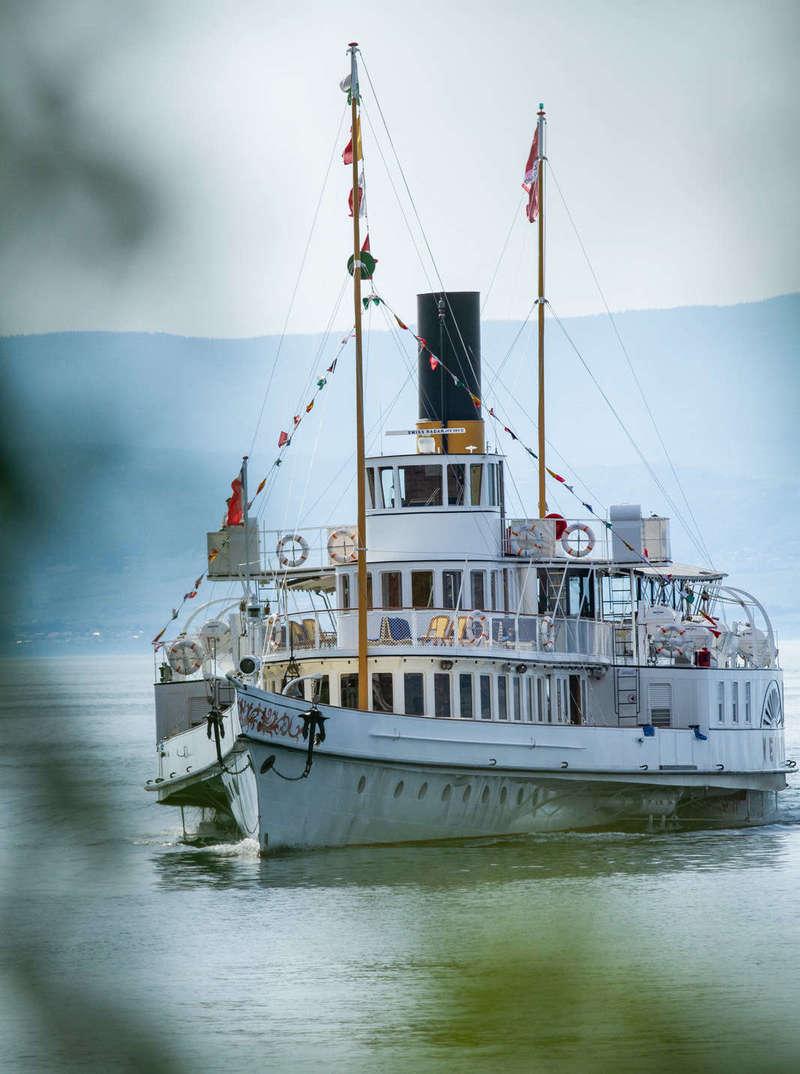 Reportage photo corporate - bateau sur le lac Léman