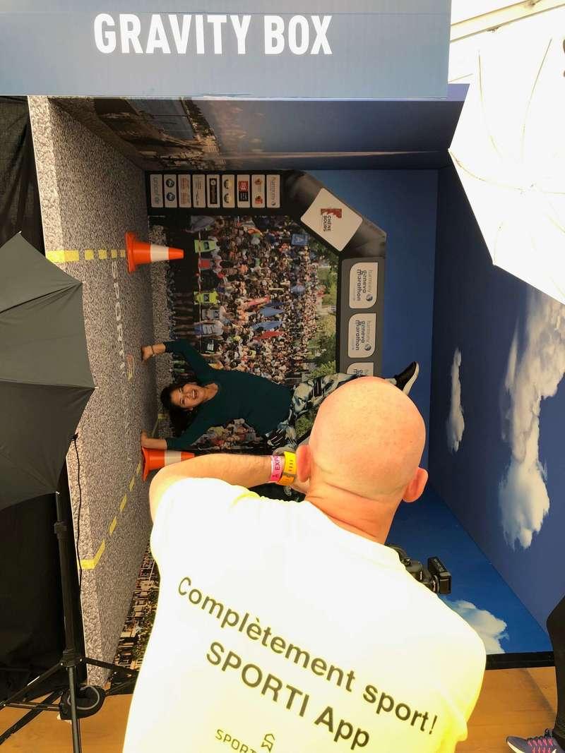 Marathon de Genève 2019 -Animation photo - Gravity Box