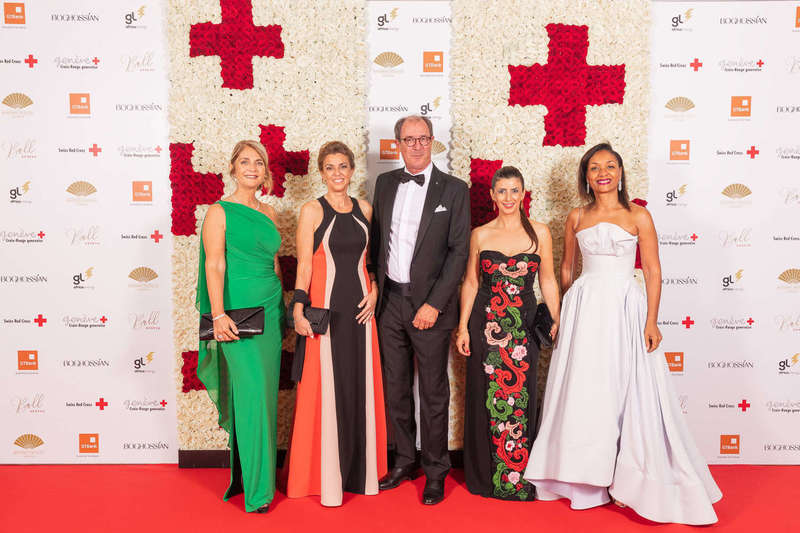 Photocall officiel - Bal de la Croix Rouge 2019