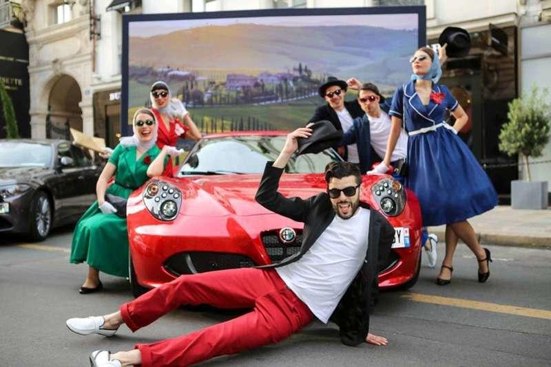 Photocall décors pour Alfa Roméo - 2016