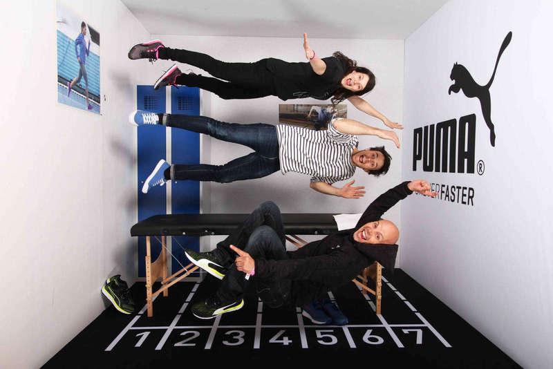 Gravity Box pour le salon du Running - 2017