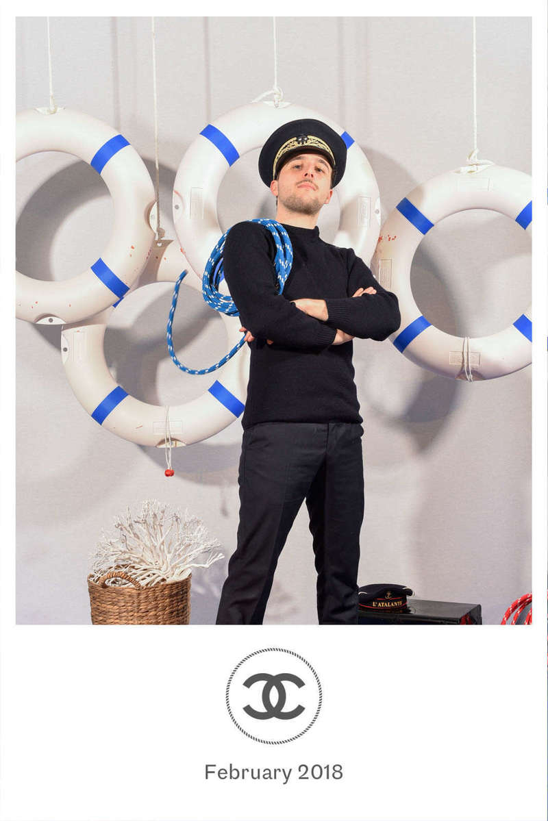 Photocall décors pour Chanel - 2018