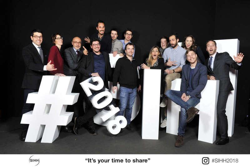 Photocall décors pour le SIHH - 2018
