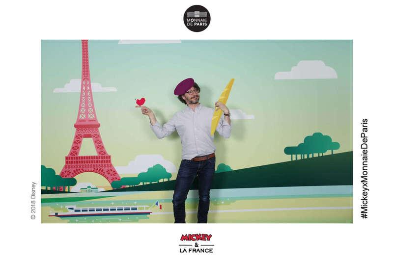 Pix & Draw pour la Monnaie de Paris avec Mickey - 2018