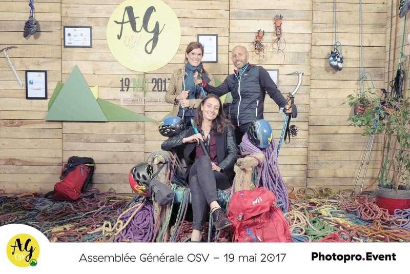 Photocall décors pour l'assemblée général OGV - 2017