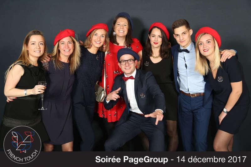 Photocall pour la soirée de fin d'année de Page Group - 2017