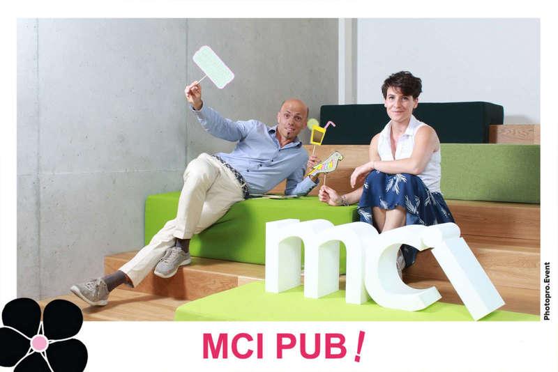 Photocall décors pour MCI - 2018
