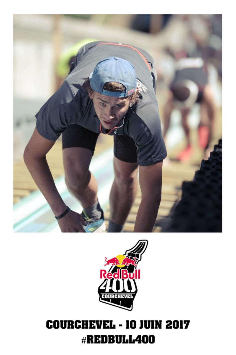 Reportage Print & Share pour la course Redbull 400 à Courchevel - 2017